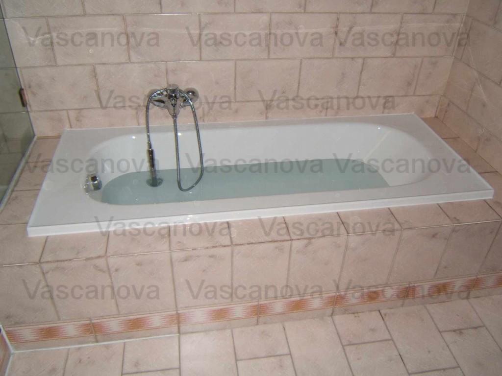 Sovrapposizione vasca da bagno vascanova soluzioni per - Pulire vasca da bagno ...